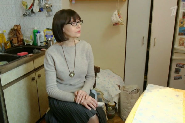 Актриса стесняется бардака в своей квартире
