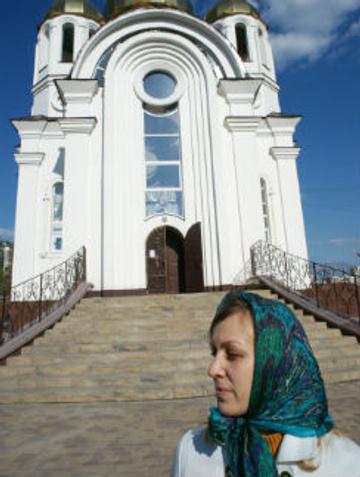Ольга Попова – прихожанка церкви Почаевской иконы Божией матери