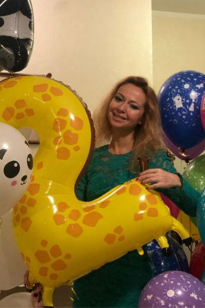 6 декабря Захарова устроила скромную вечеринку в честь дня рождения дочери