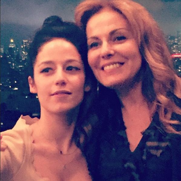 Катя с мамой Сати Спиваковой