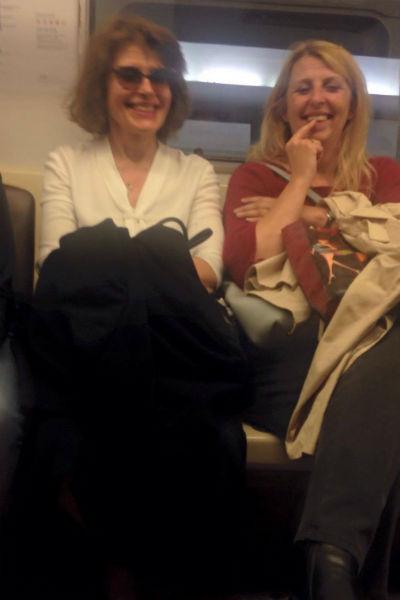 Фанни Ардан понравилось московское метро