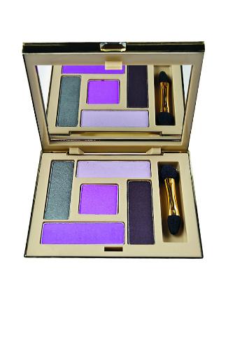 Палитра теней для век Luxe, «Утонченный фиолетовый», 550 руб.