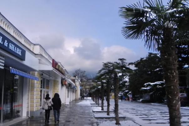 Ялта открыта для туристов круглый год