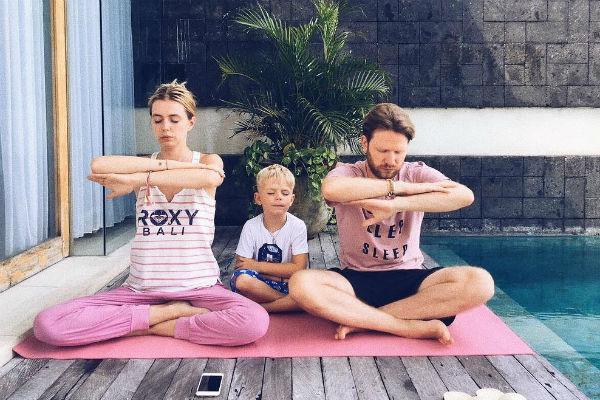 Гуркова старается проводить много времени с детьми и мужем