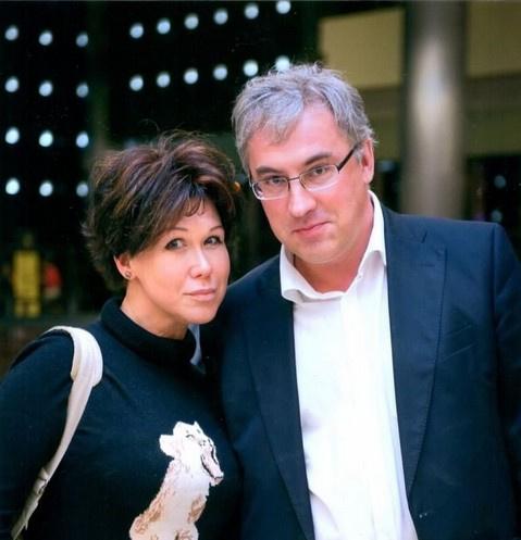 Андрей Норкин с супругой Юлией