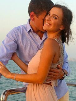 Лена Темникова с мужем Дмитрием