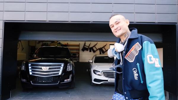 Рэпер обожает дорогие автомобили