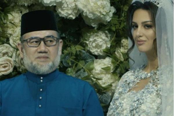 Ради новой любви король Малайзии отрекся от престола