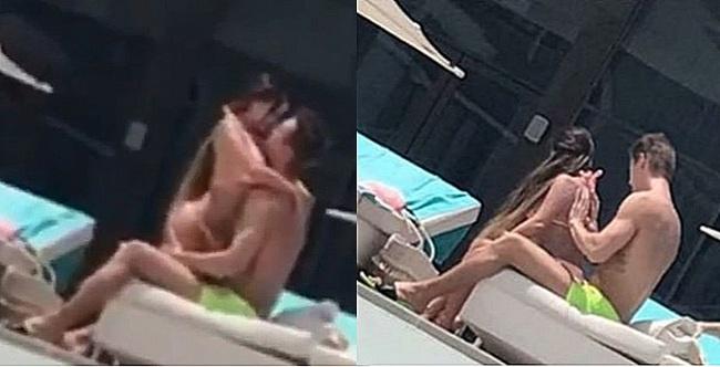 Снимки, на которых якобы запечатлен Алексей Воробьев с предполагаемой новой возлюбленной
