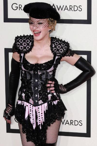 Мадонна всегда любила эпатировать публику