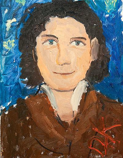На этот портрет Отара вдохновил Ван Гог