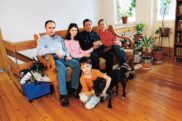 Игорь Кваша проводил много времени с сыном и внуками