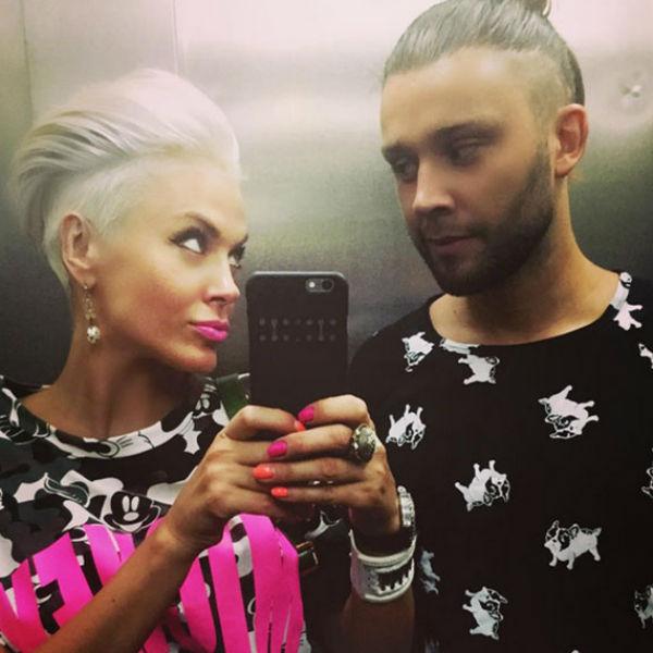 Слава Никитин и Таня Терешина