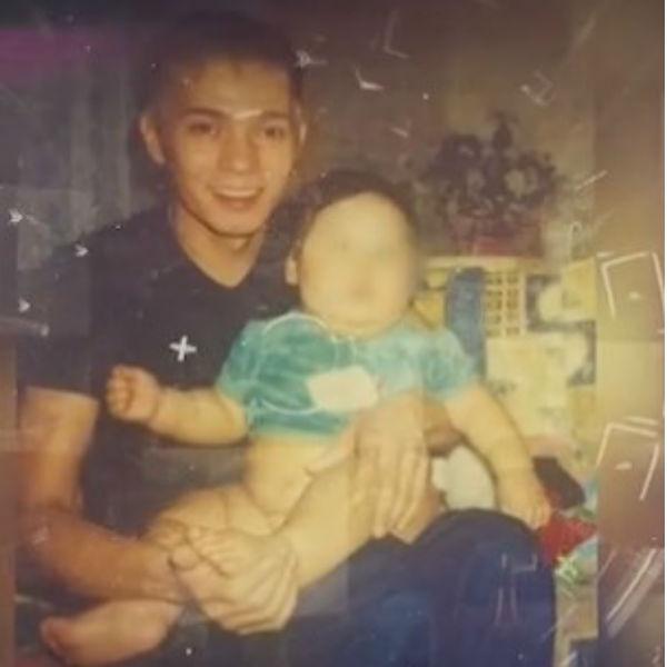 Олег с маленьким Игорем