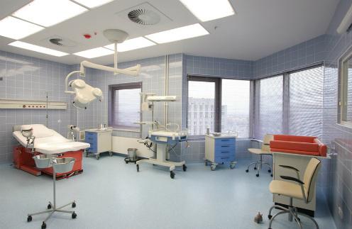 Родильный зал на одного человека Перинатального центра в Москве