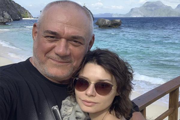 Сергей Доренко и его жена Юлия