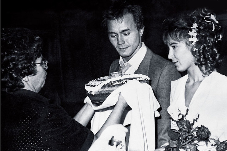 Первой женой Панина стала Татьяна Французова