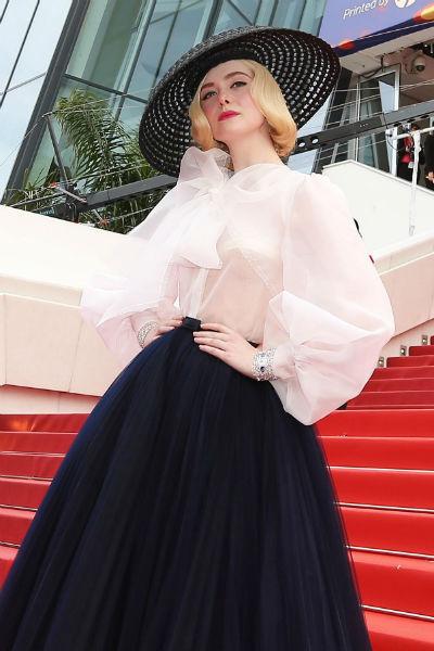 Актриса в образе от Dior