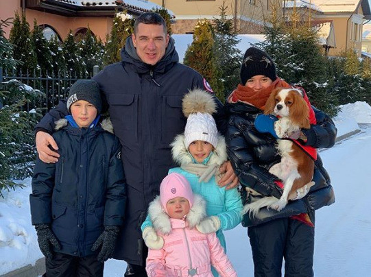 Новый год Ксения встретит в кругу семьи