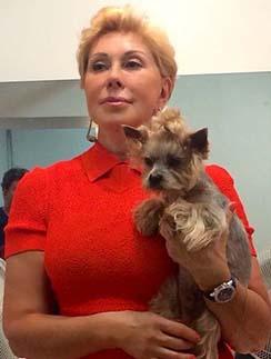 Любовь Успенская и ее любимый Фрэнки