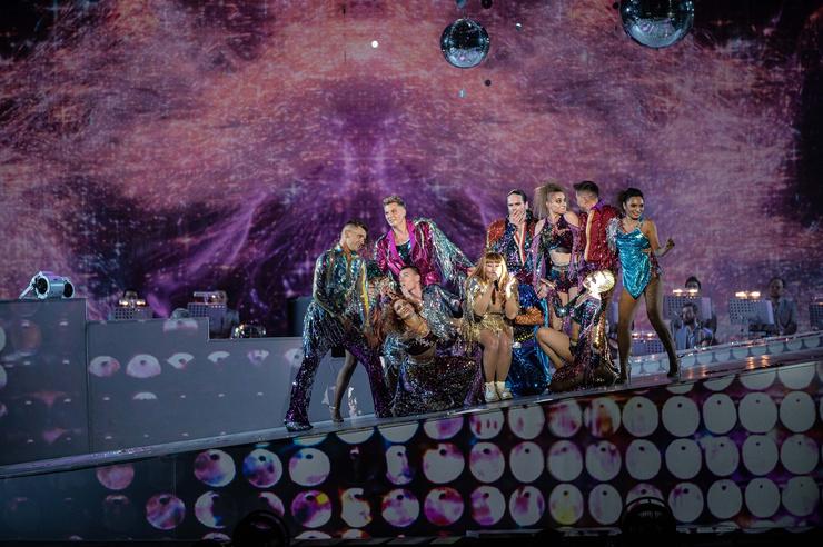Звезда напомнила поклонникам о стиле диско