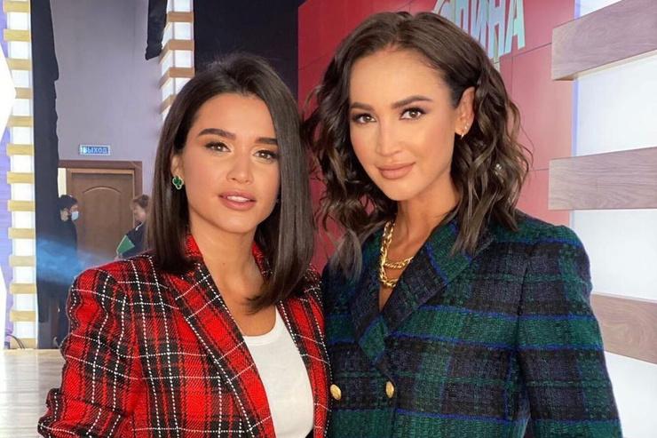 Ксения Бородина и Ольга Бузова