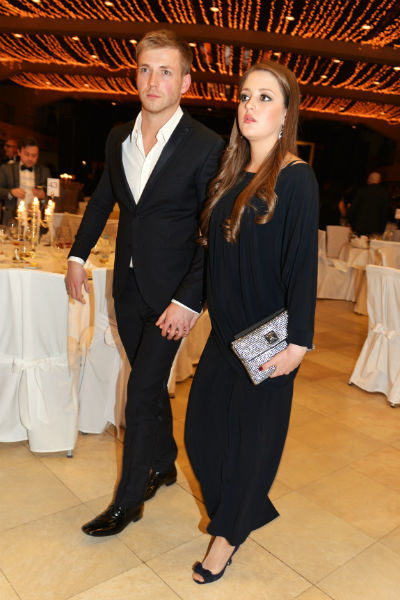 Анна Михайловская с мужем Тимофеем Каратаевым