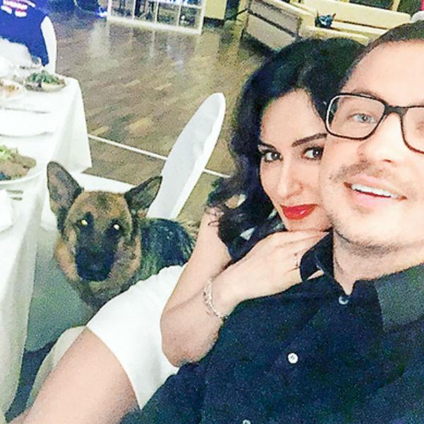 Тина Канделаки с супругом Василием Бровко
