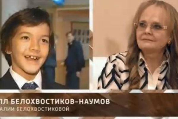 Кирилл всегда поддерживает знаменитую маму