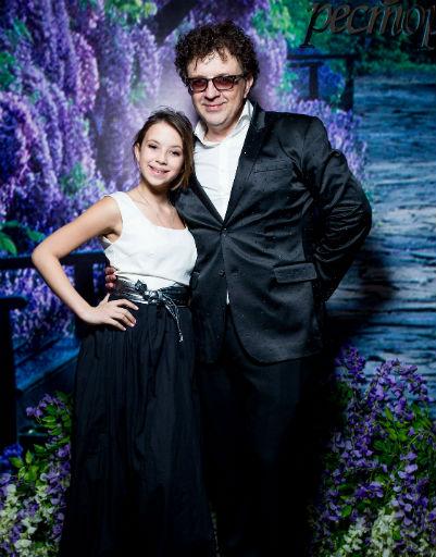 Рома Жуков с дочерью Полиной