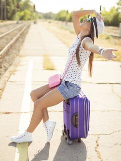 Яркий образ сделает путешествие еще веселее.
