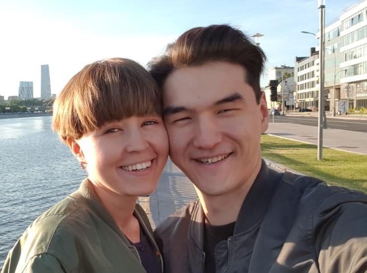 Диана и Нурлан Сабуровы