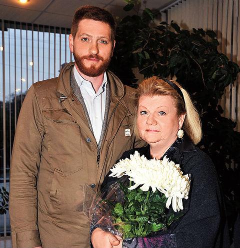 Ирина Муравьева во всем поддерживает сына