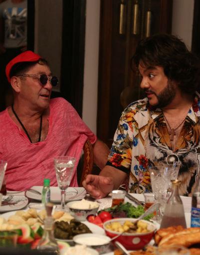 Григорий Лепс и Филипп Киркоров не в первый раз демонстрируют свои актерские таланты