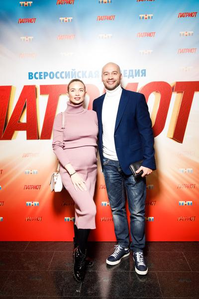 Андрей Черкасов с супругой