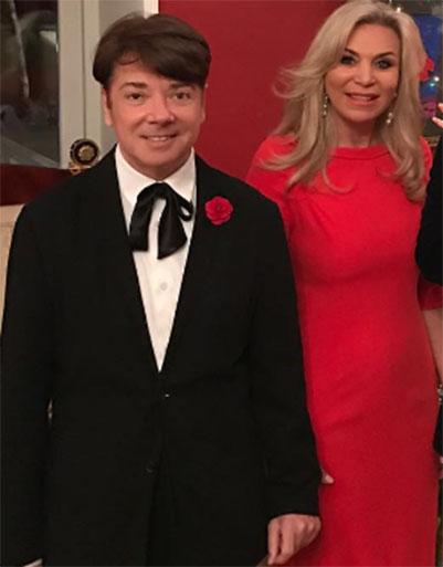 Валентин Юдашкин с женой Мариной