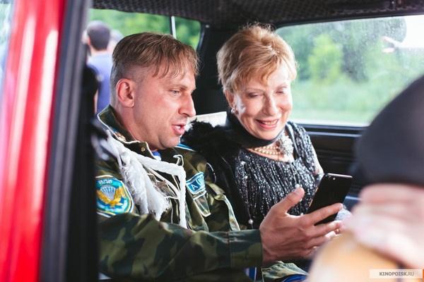 Дмитрий Нагиев и Инна Чурикова в фильме «Самый лучший день»