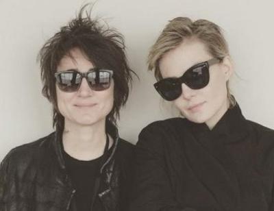 Рената Литвинова и Земфира отдыхают вместе на яхте