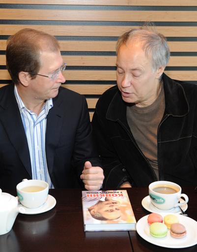 МихаилКонкин и президент Hearst Shkulev Media Виктор Шкулев