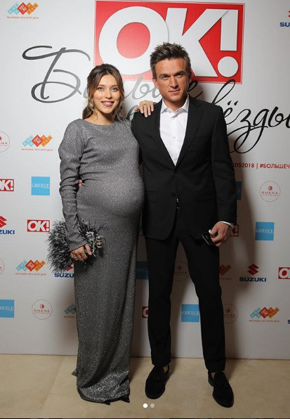 Регина и Влад на премии журнала «ОК!»