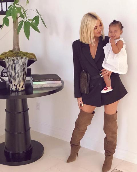 Хлои Кардашьян стала мамой чуть больше года назад