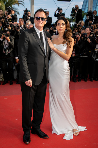 Квентин Тарантино с супругой