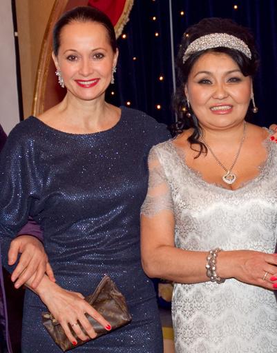 Клара Кузденбаева и Ольга Кабо