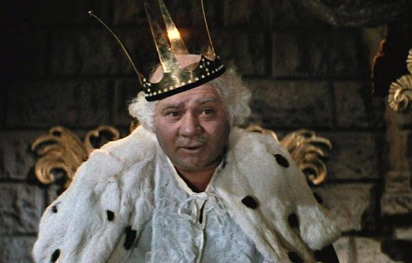 За долгую карьеру Евгений Леонов не раз перевоплощался в сказочного короля