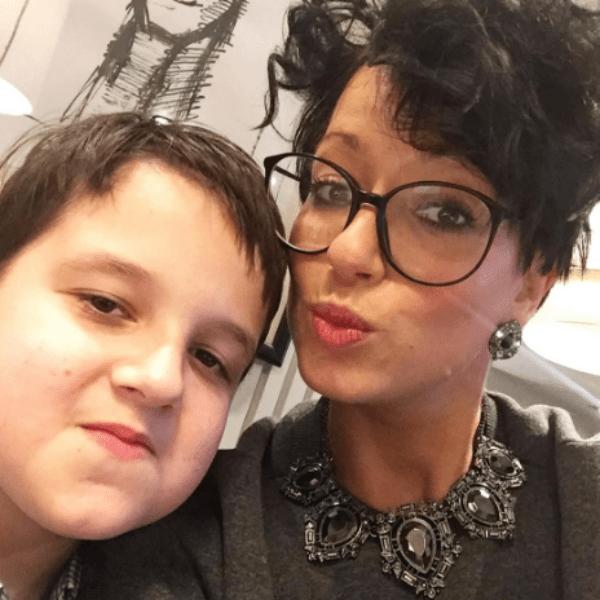 У Кати подрастает девятилетний сын