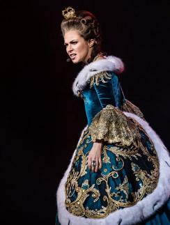 Екатерина Гусева в роли имератирцы Екатерины II