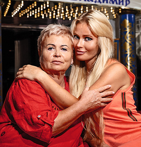 Дана Борисова помирила дочь с бабушкой в круизе