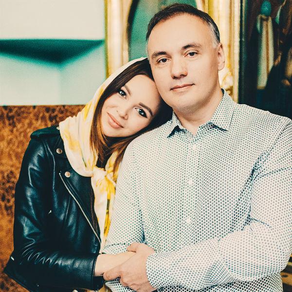Лисова с мужем Михаилом