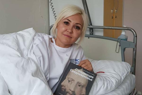Телеведущая опубликовала снимок с больничной койки