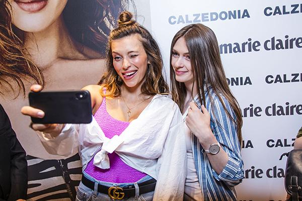 Регина Тодоренко с гостьей вечеринки